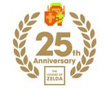 ゼルダの伝説25周年 ロゴ