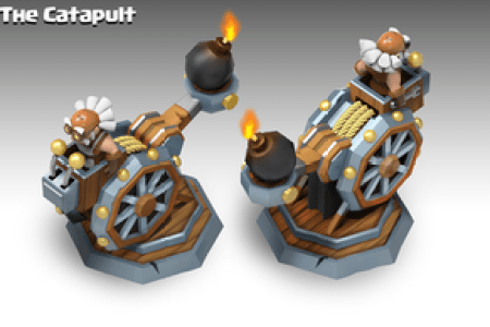 clash of clan style charactes and catapult design by peachlab d9n8gjl