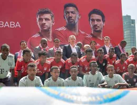 Afbeeldingsresultaat voor Bayern ouvre sa première école de foot africaine à Addis Abeba