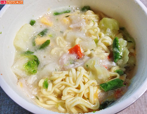 cheese cream stew noodle