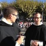 Frère Antoine Odendall (Bordeaux) et Frère  Jacques-Benoît RAUSCHER