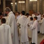 Vêture des ornements diaconaux