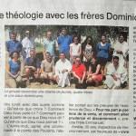 Article de Ouest France 206