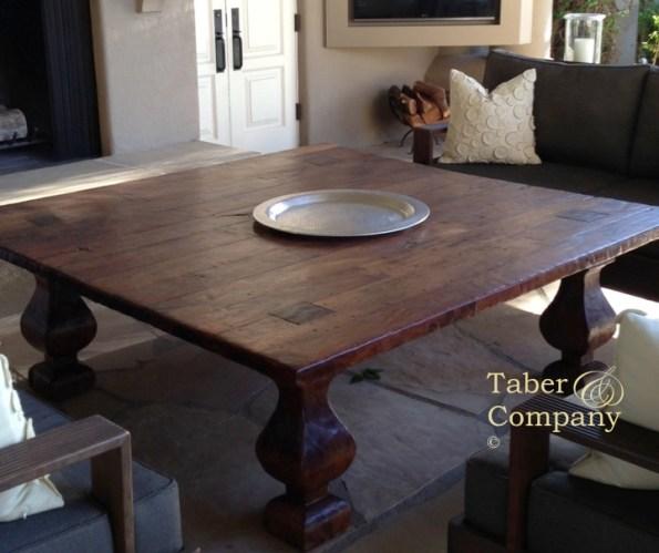 Spanish, Mediterranean, Tuscan Style Coffee Table