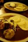 guláš knedliky (goulash and dumpling)