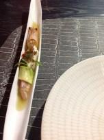 Palamós Prawns with our garlic sauce
