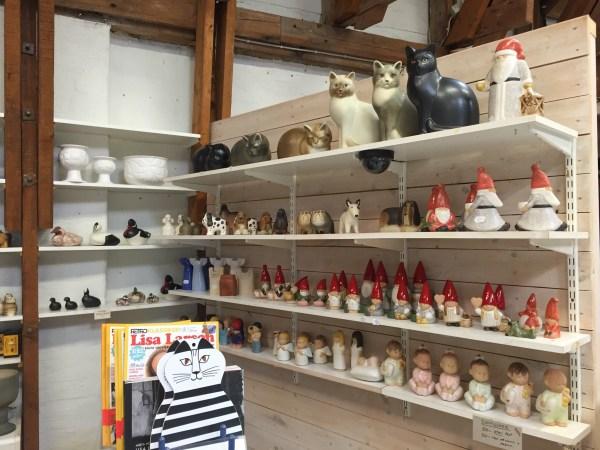 スウェーデン グスタフスベリ 陶磁器の街
