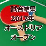 試合結果_オーストリアオープン2017