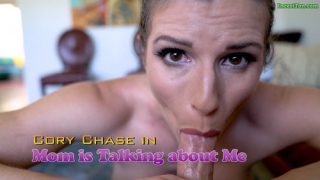 Cory Chase – Mom is talking about me
