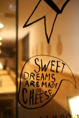 sweet dreams are made of cheese at Tábua Rasa