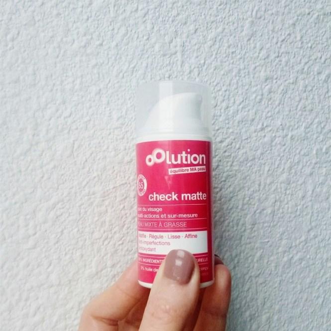 Favoris de novembre 2015 - Crème check matte Oolution