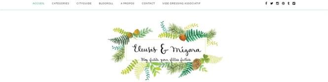 Tache de Rousseur - Mes blogs Green préférés - Eleusis et Megara