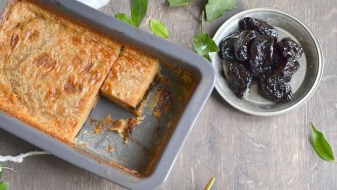 Bonheur sur l'internet - Desserts Vegan, Far aux pruneaux - Tache de Rousseur, blog beauté naturelle et lifestyle