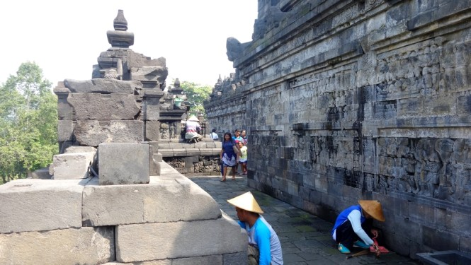 Blog voyage Indonésie - Jogjakarta Borobudur