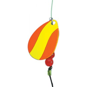 Creme Lure Hot Stuff Spinner Rigs - Gold