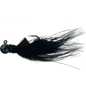 AeroJig Marabou Jig - Black (1/8 OZ)