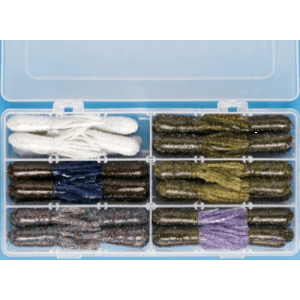 Cabela's 49-Piece 2-3/4 Bass Tube Kit (2 3/4)