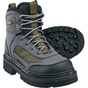 Cabela's Men s Ultralight Wading Boots with Lug Soles - Grey/Green (8)