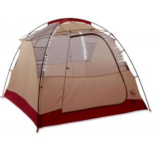 Big Agnes Chimney Creek 6 mtnGLO Tent Orange/Cream
