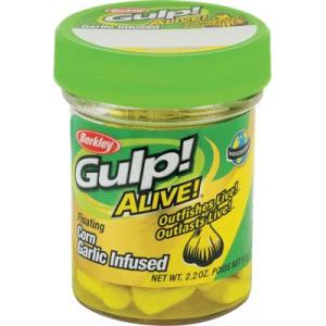 Berkley Gulp! Alive! Garlic Infused Floating Corn - White
