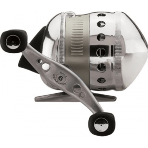 Zebco Omega Spincast Reel - Stainless