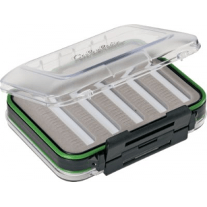 Cabela's Double-Sided Fly Box - Stainless (SMALL)