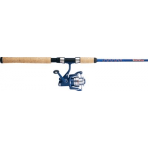 Cabela's Whuppin' Stick Spinning Combo - Stainless Steel