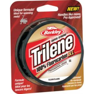 Berkley Trilene 100% Fluorocarbon XL Pro Grade Line - Clear (200 YD)