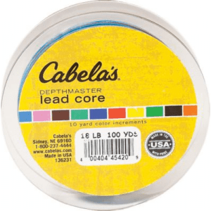 Cabela's DepthMaster Lead-Core Fishing Line (100 YARDS)