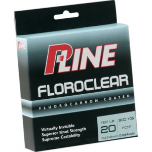 P-Line Floroclear Fishing Line 600 Yards - Clear (4 LB)