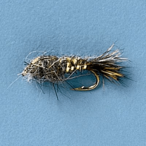 Cabela's Gold-Ribbed Hare's Ear Nymps - Per Dozen - Natural