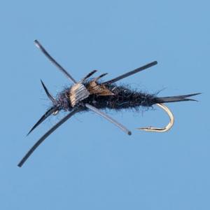 Cabela's Black Stonefly Nymphs - Per Dozen