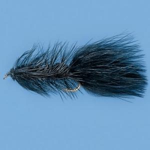 Cabela's Black Woolly Buggers - Per Dozen