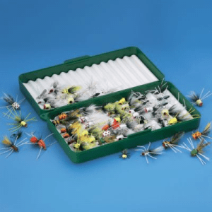 Cabela's Betts 32-Piece Popper Fly Assortment with Box