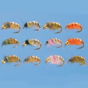 Cabela's 24-Piece Czech Nymph Assortment - Rainbow
