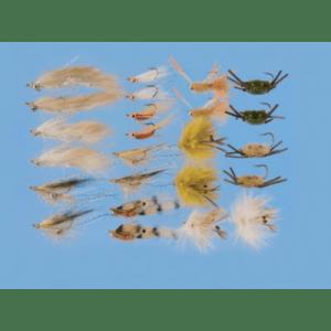 Cabela's 24-Piece Permit and Bonefish Assortment - White