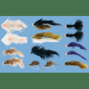Cabela's 14-Piece Alaska Rainbow Fly Assortment