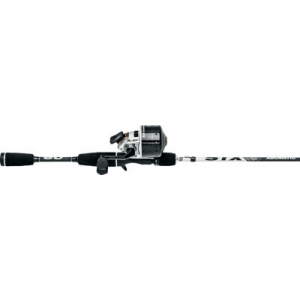 Abu Garcia Abumatic STX Spincast Combo - Stainless Steel