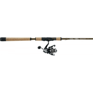Cabela's Pflueger Summit/Cabelas Prodigy Walleye Spinning Combo - Stainless Steel