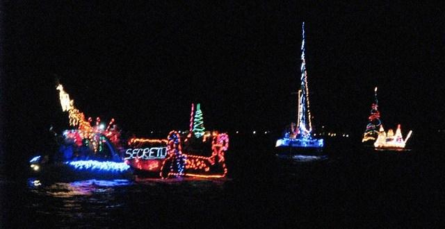 San Pedro lighted boat parade 2012