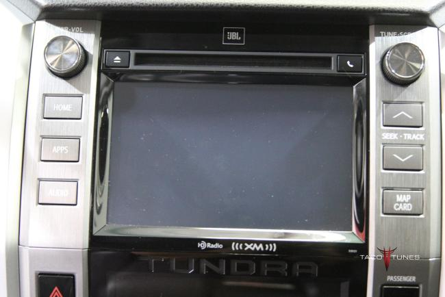 Toyota Tundra CrewMax JBL Head Unit