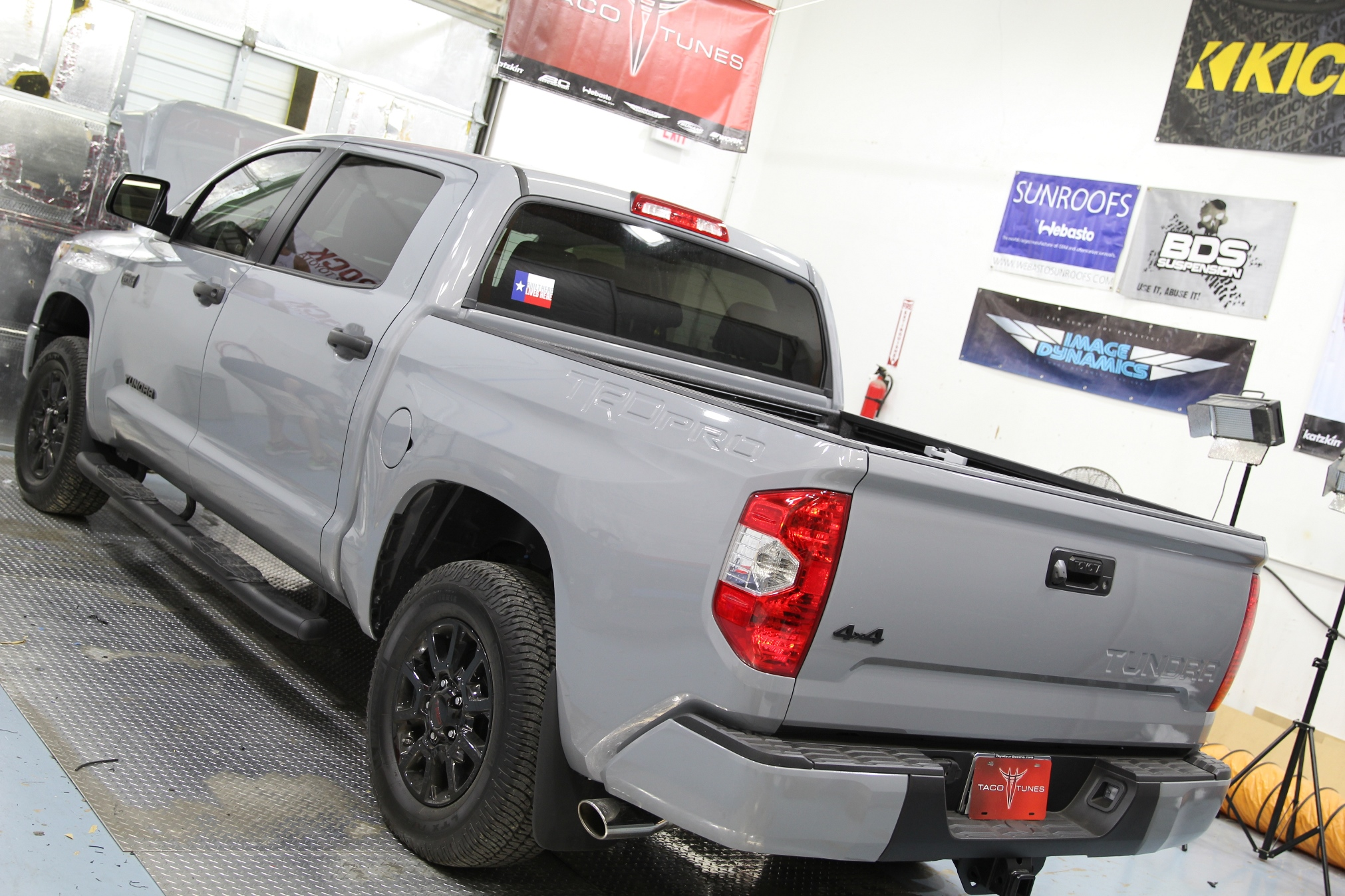 2017 toyota tundra trd pro cement indoor pictures taco. Black Bedroom Furniture Sets. Home Design Ideas