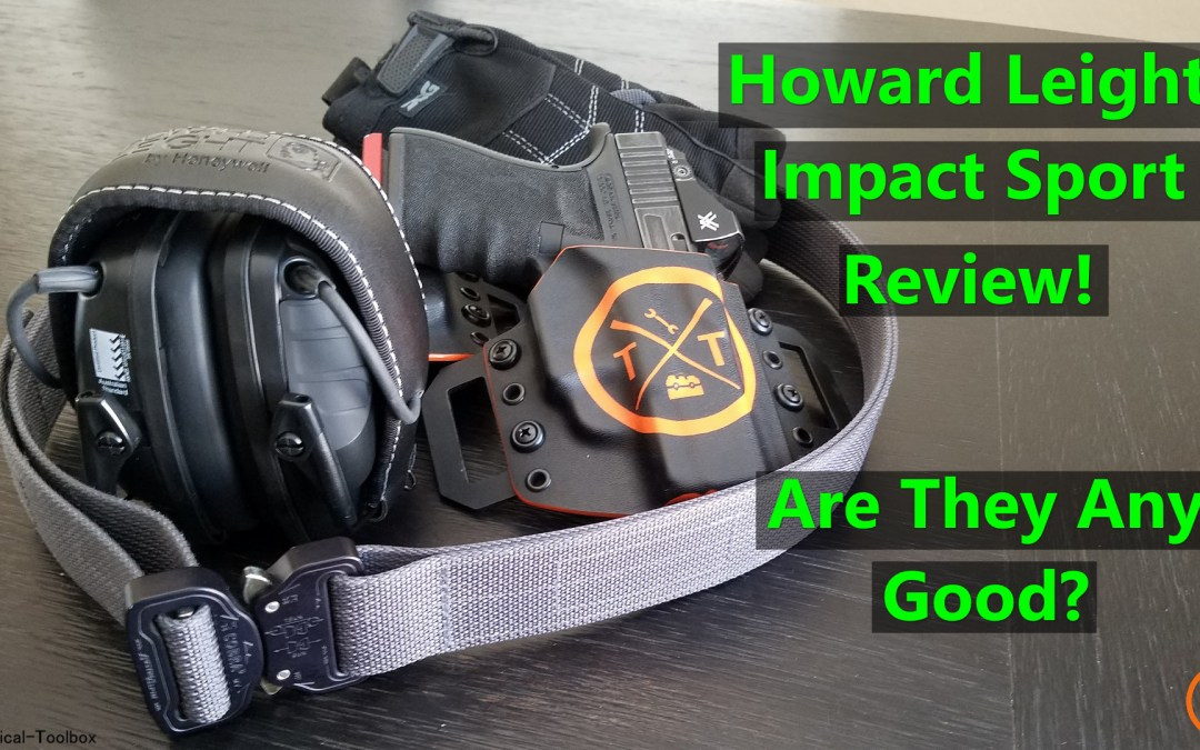 Best Electronic Hearing Protection: Howard Leight Impact Sport Review!