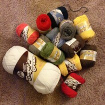 crochet cotton yarn stash