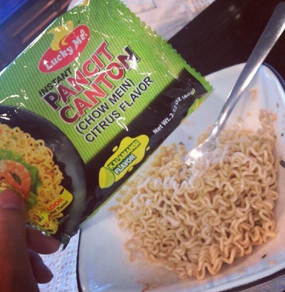 Lucky Me Pancit Canton Kalamansi Flavor
