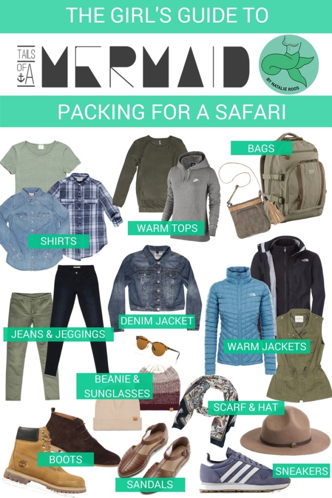 The Girl's Guide to packing for a safari in the Kruger Park