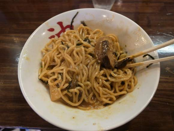 「東京油そば本舗」御器所店が想像以上においしい件について (2)