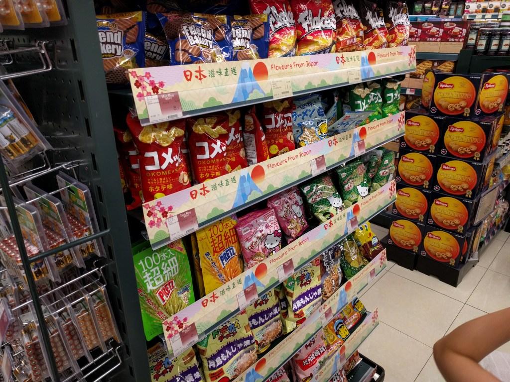 香港日本のお菓子