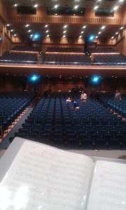 ステージから見るとこんなんです