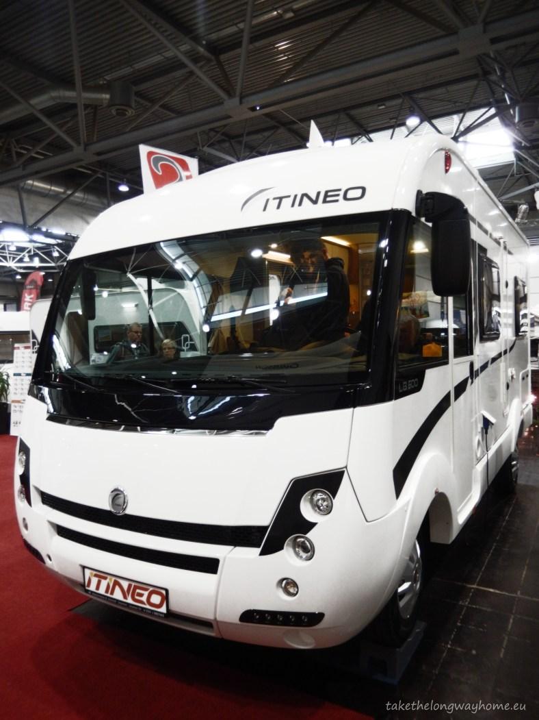 ITINEO LB 600 la T&C Leipzig 2015 - Vedere frontală